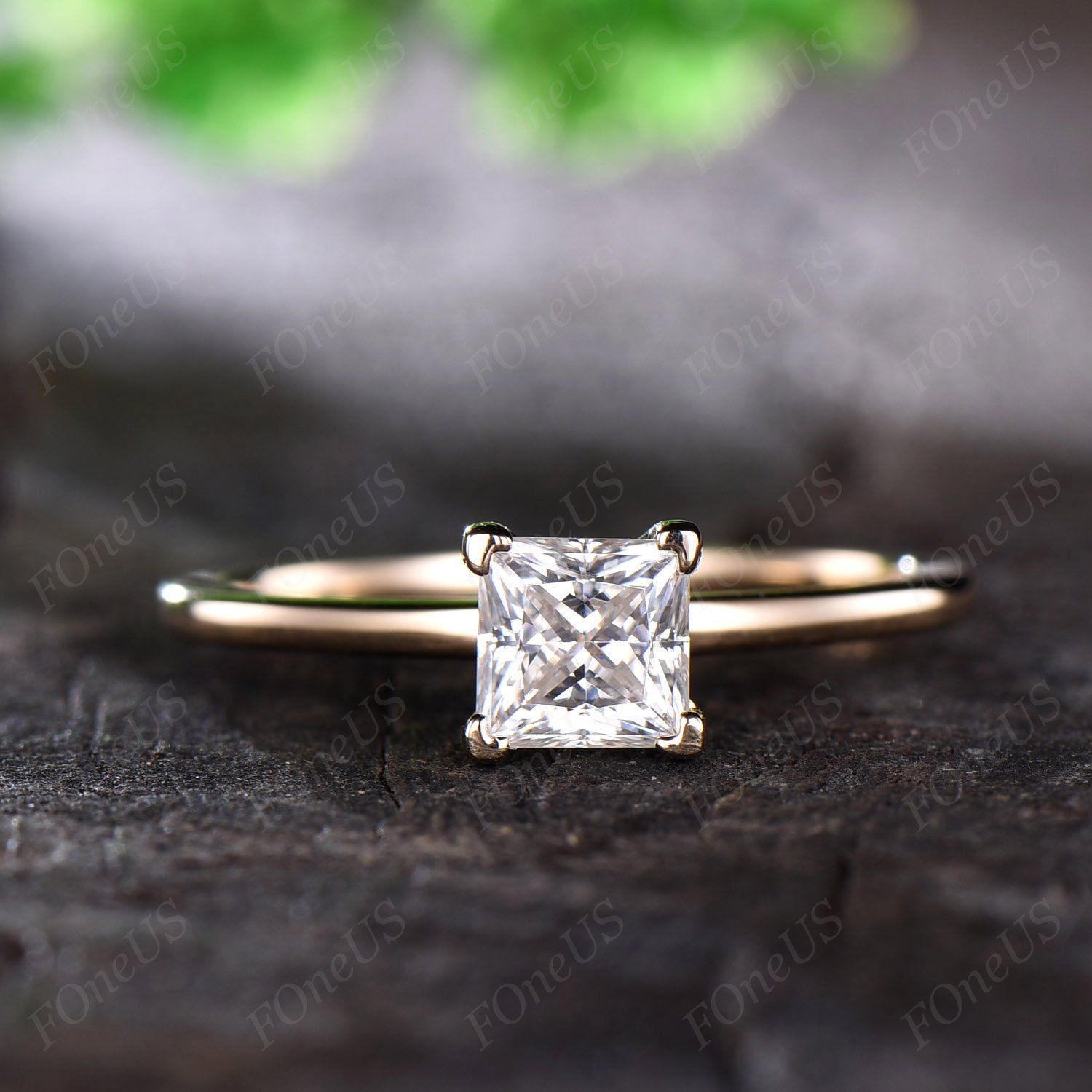 Pin On Forever One Moissanite Engagement Ring