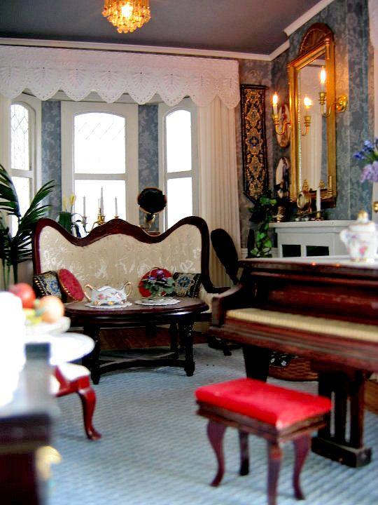 Victorian Dollhouse Living Room Dollhouse Living Room Victorian Dollhouse Furniture Modern Apartment Living Room