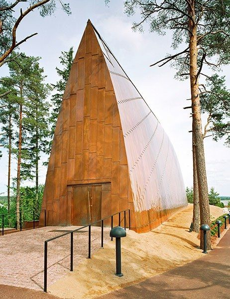 St Henry's Ecumenical Art Chapel, Turku, Finland...The World's Best Copper Buildings Photos | Architectural Digest