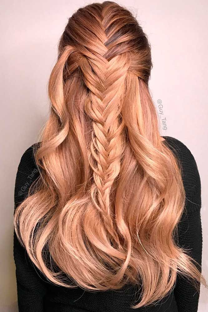 Christmas Hairstyles For Long Hair.36 Super Cute Christmas Hairstyles For Long Hair Hair