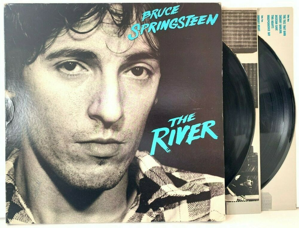 Bruce Springsteen The River Columbia Pc2 36854 Original Lp Vinyl Record Album Vinyl Record Album Bruce Springsteen Vinyl Records