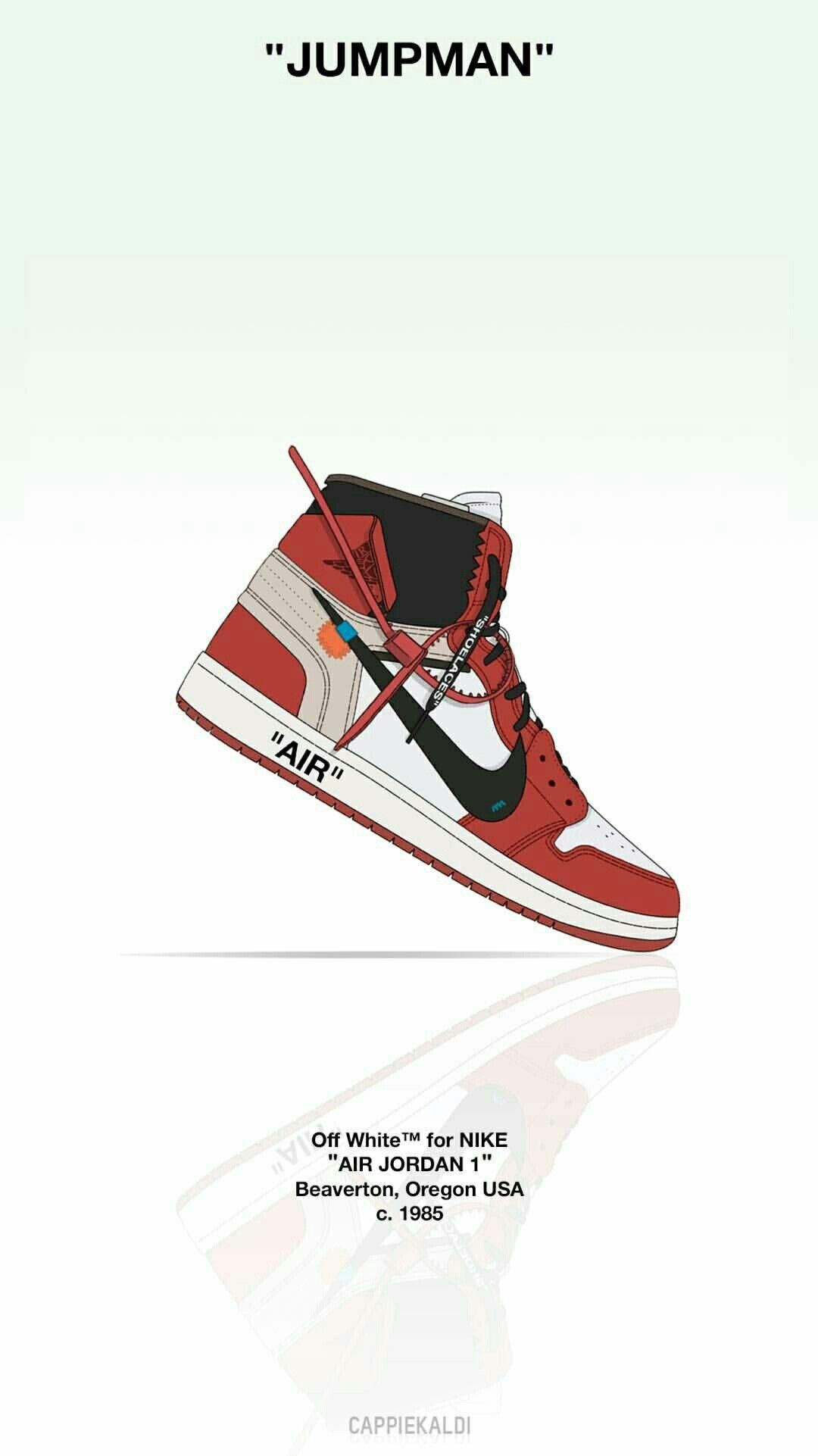 Jordan Off White Wallpaper Sneakers Wallpaper Shoes Wallpaper Sneakers Illustration