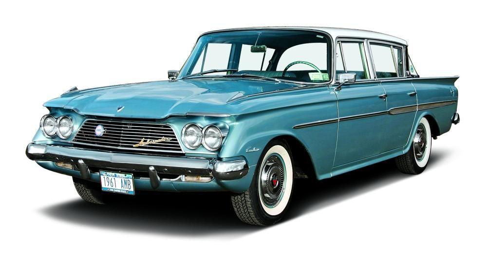 1961 Rambler Ambassador V 8 Custom American Motors Automobile Classic Cars