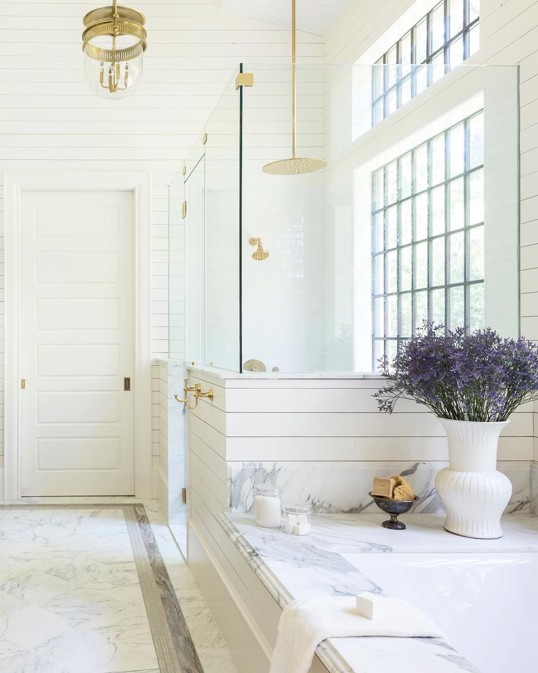 Bathroom reno on the brain? @PureWow does it again with 8 dreamy ...