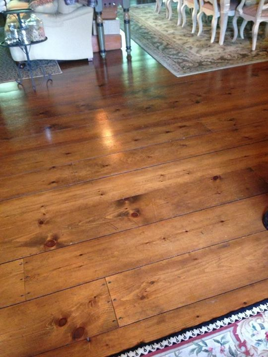Tina Price Installed Carlisle 12 Inch Wide White Pine Flooring In Her Home Want The Same Fabulous R Wood Floors Wide Plank Wide Plank Flooring Plank Flooring
