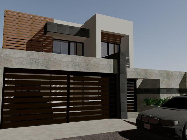 640 480 p xeles for Fachadas de garajes modernos