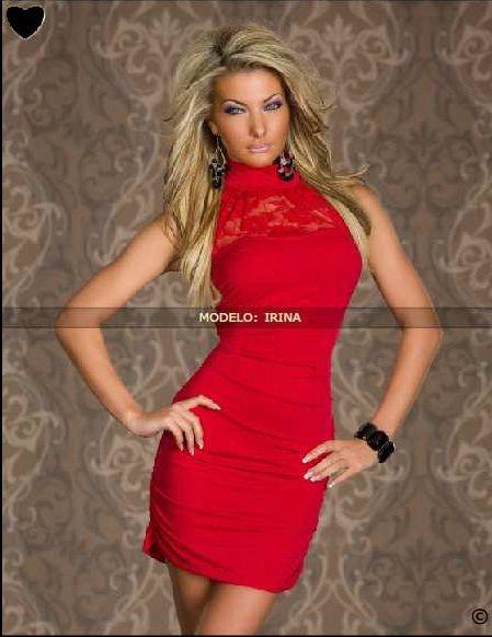 Pin On Vestidos Rojos Cortos