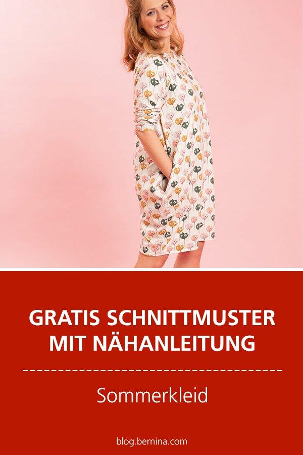Photo of Sommerkleid nähen – Gratis-Schnittmuster und Anleitung für das Kleid Toni