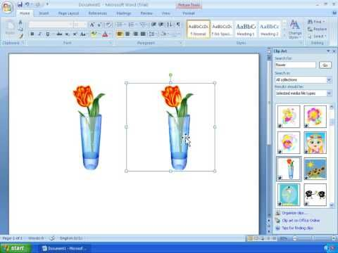 word 2007 tutorial 11 working with clipart microsoft office rh pinterest com au Clip Art Microsoft Word image clipart microsoft office 2007