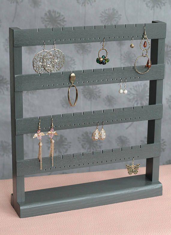 Jewelry organizer earring stand earring storage earring organizer