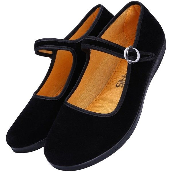 | Women's Cotton Mary Jane Shoes Ballerina Ballet