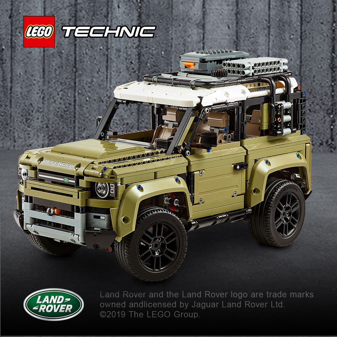 Photo of Neu von LEGO Technic:  Der neue Land Rover Defender
