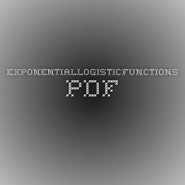 ExponentialLogisticFunctions.pdf