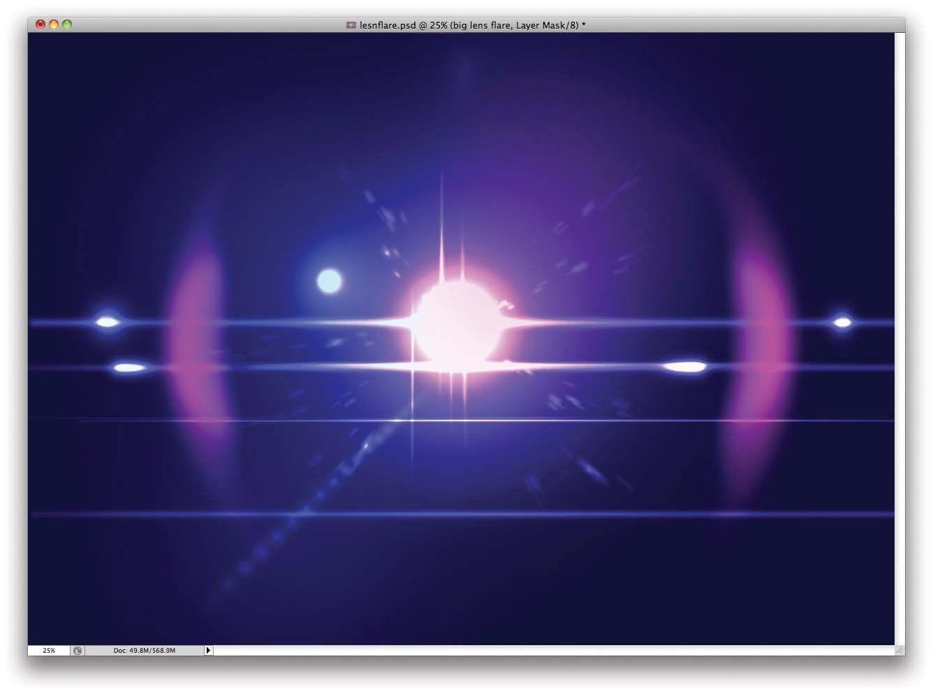 Line Art Effect Photoshop Tutorial : Photoshop tutorial: create lens flares that aren't cheesy