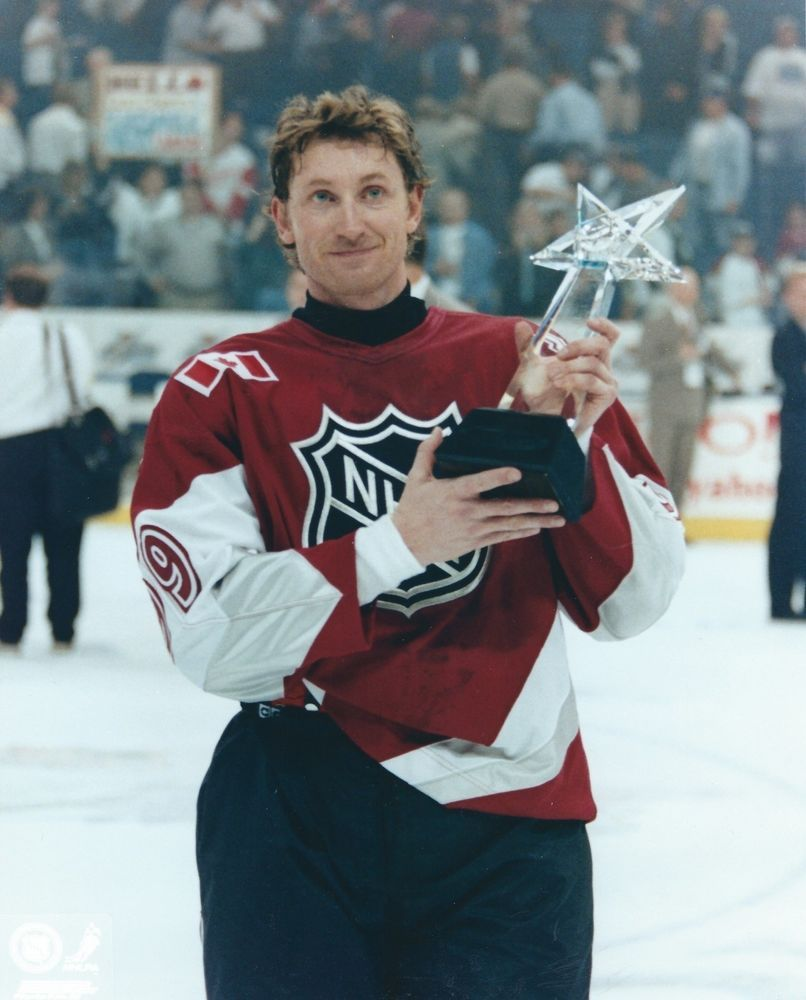 Details about Wayne Gretzky NHL Hockey 1999 All Star Game MVP Held ... 336063482