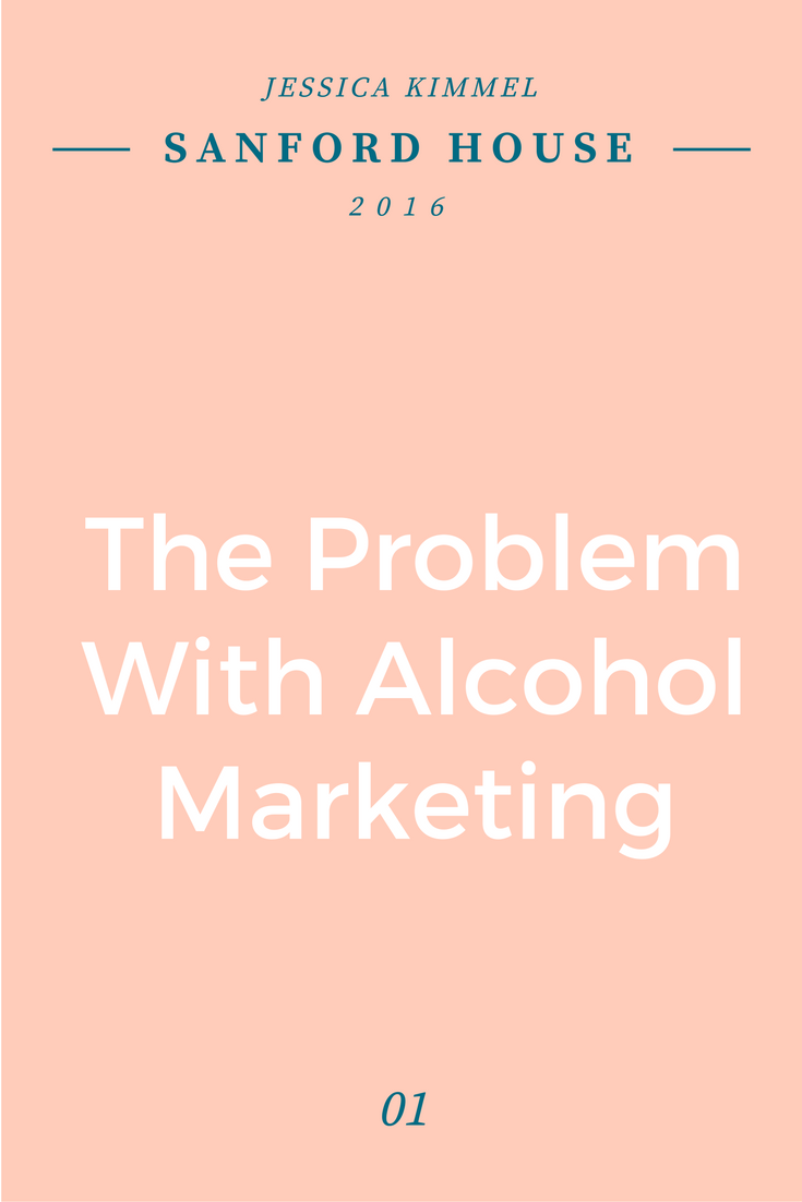 So what's the deal with marketing alcohol anyway