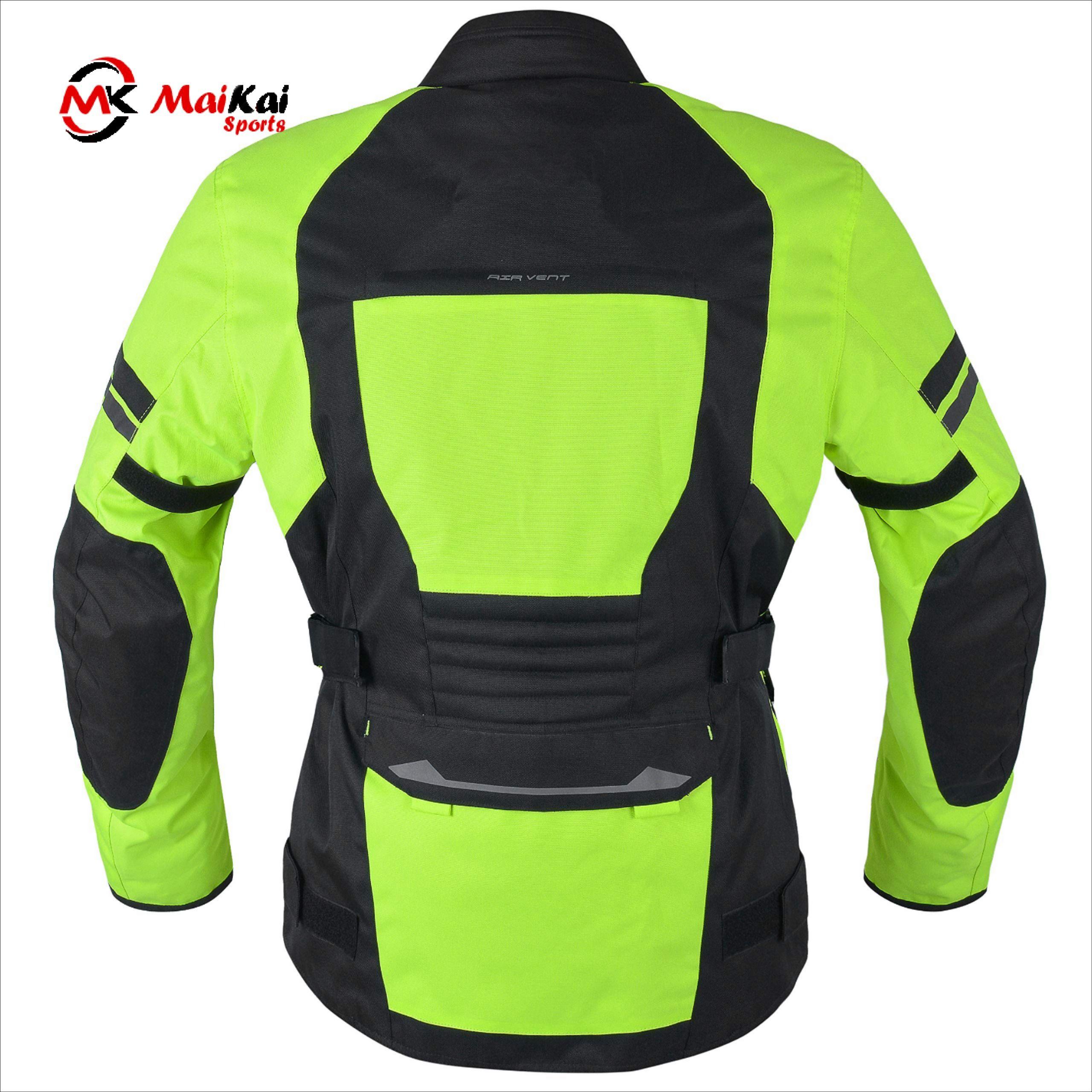 Adventure Touring Motorcycle Jacket For Men Textile