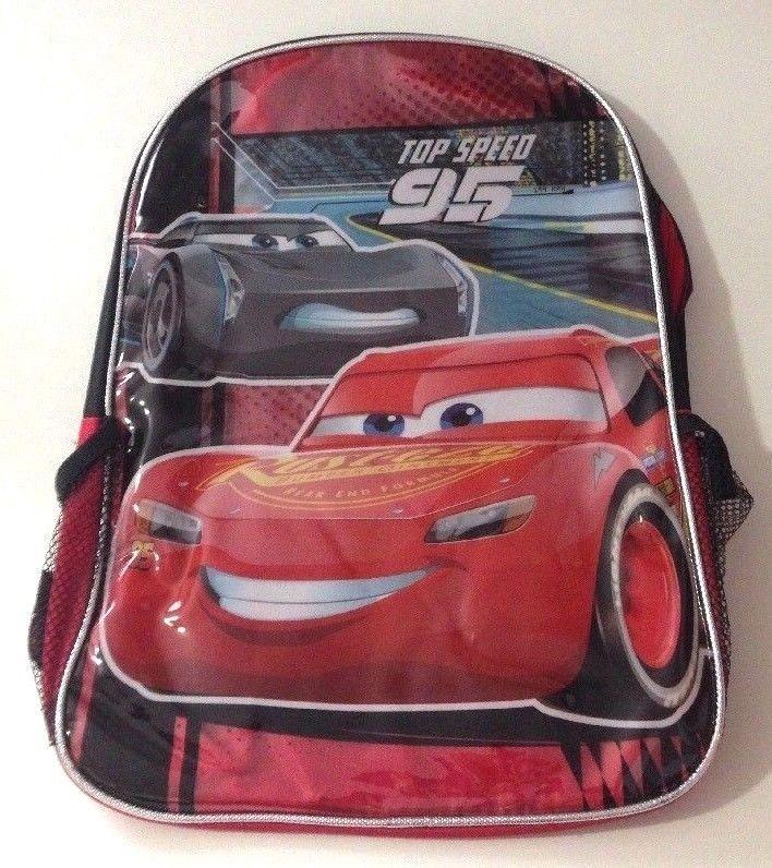 8de791b0303 Disney Pixar Cars 3 Kids Large Backpack 16