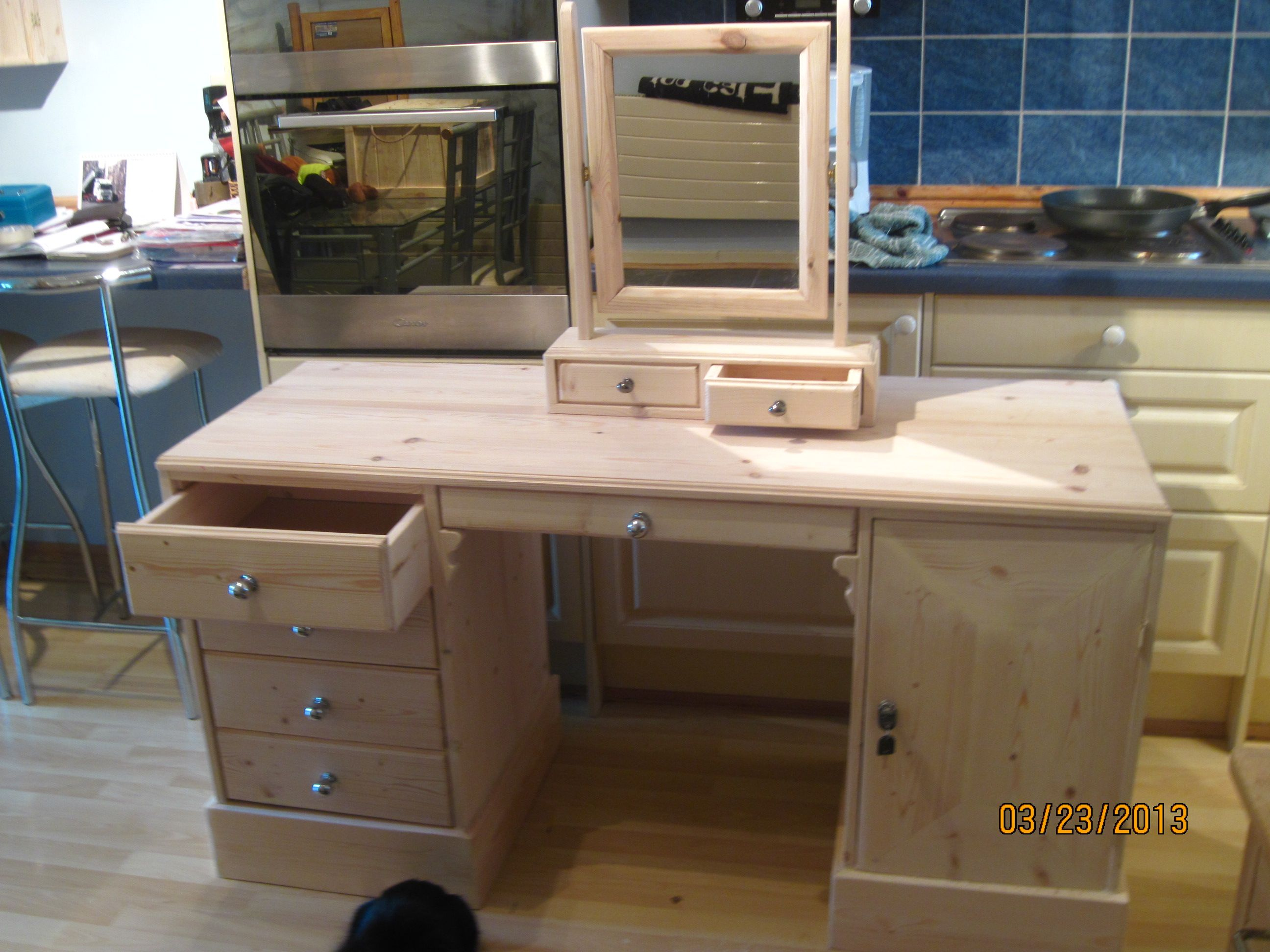 Dresser  desk  dresser desk combo  Desk dresser combo