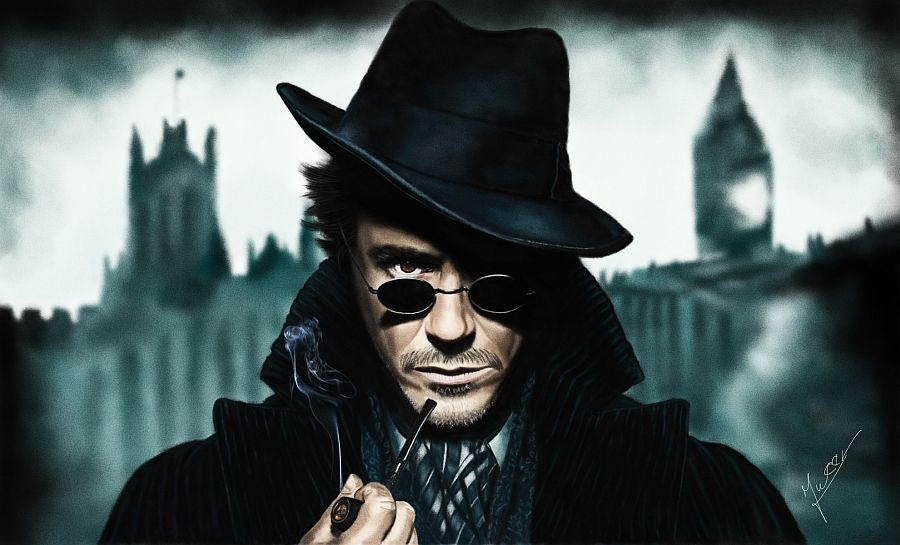 painting Sherlock Holmes by Ineer.deviantart.com on @deviantART