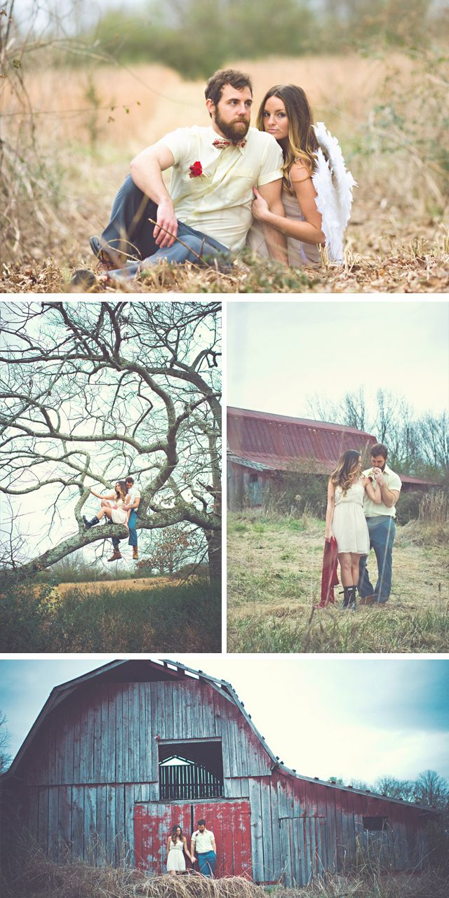 Pretty Engagement Shoot Inspiration In This Valentine S Day Inspired Love By Jessie Holloway