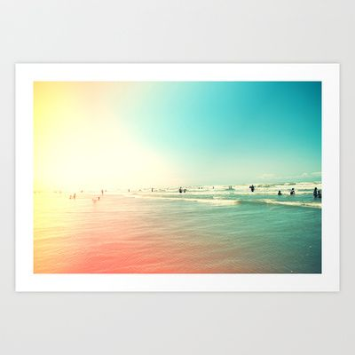Sunny Side III Art Print by Galaxy Eyes - $18.00