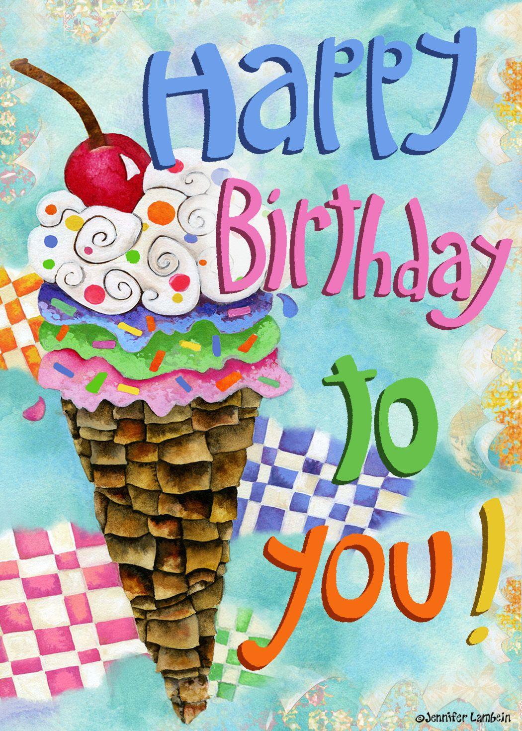 jenniferlambein Birthday Happy birthday fun, Happy