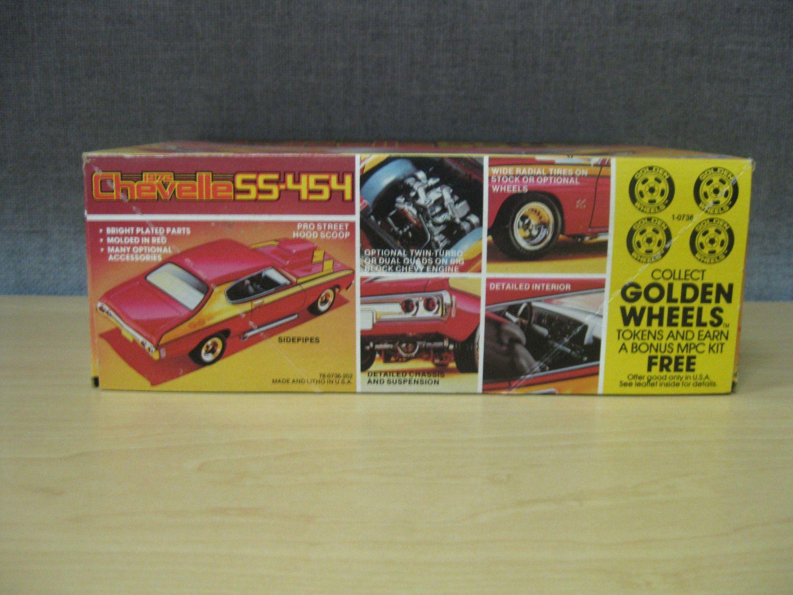 MPC-72-Chevelle-SS-454-Street-Machine-1/25-0736   Vintage CHEVY car