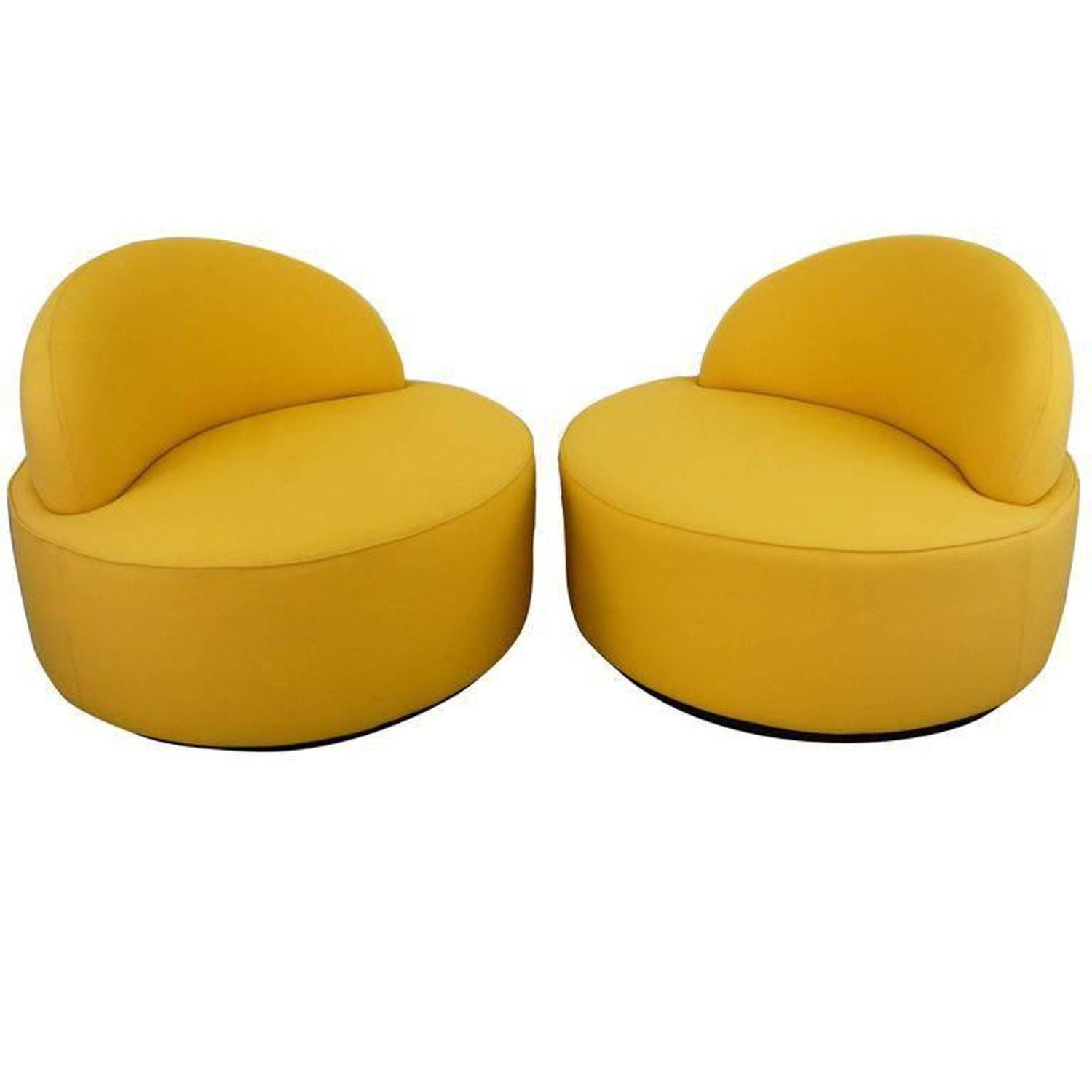 Kagan Lounge Chairs for Roche Bobois
