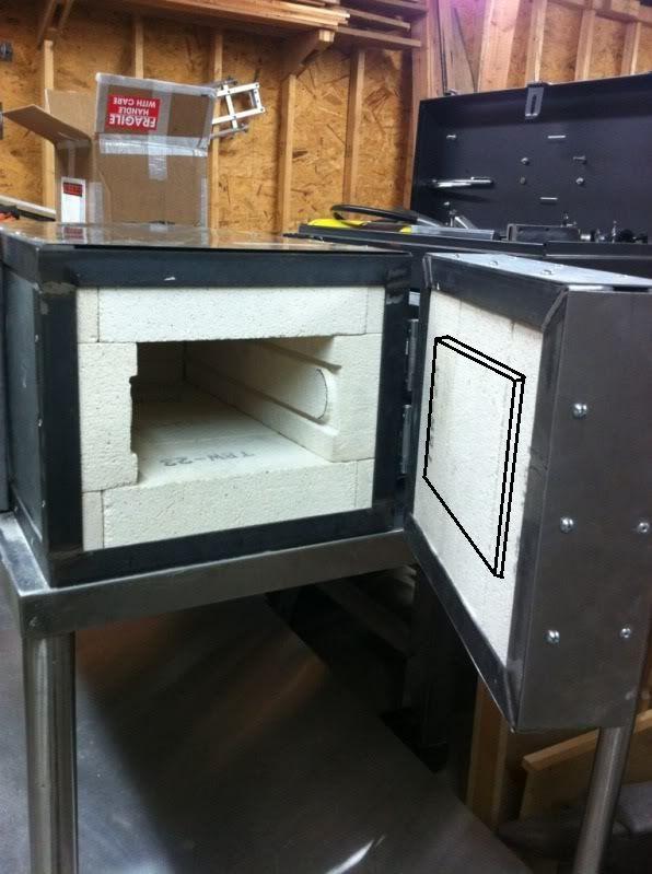 Homemade heat treat oven