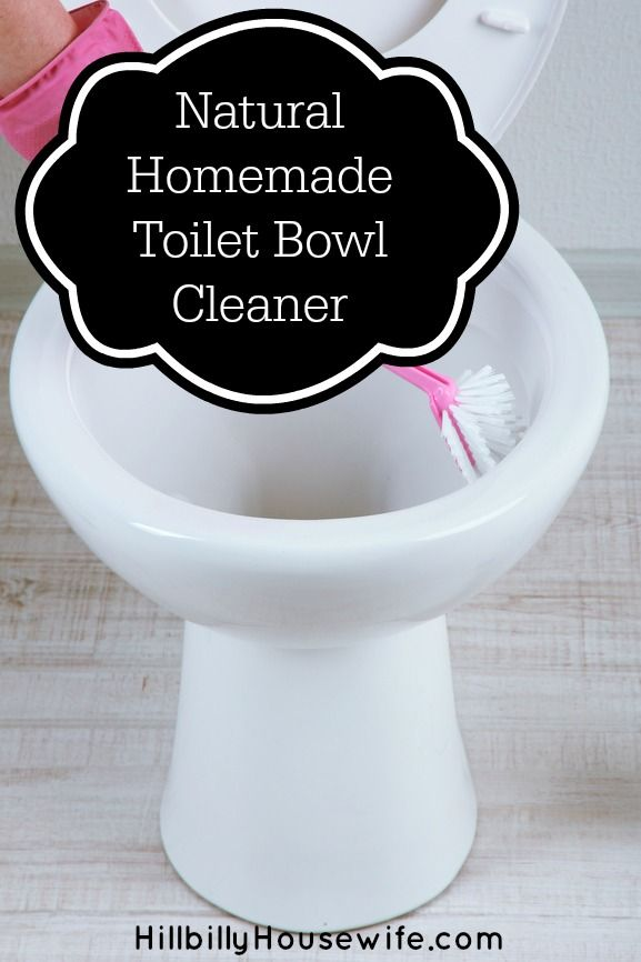 Natural Homemade Toilet Bowl Cleaner Frugal Tip Hillbilly Housewife Homemade Toilet Bowl Cleaner Toilet Bowl Cleaner Natural Homemade