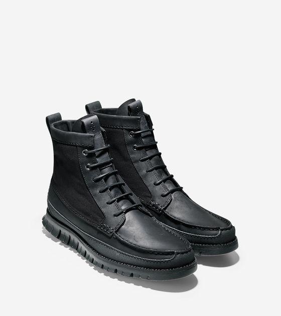 NEW Cole Haan ZEROGRAND Black Leather
