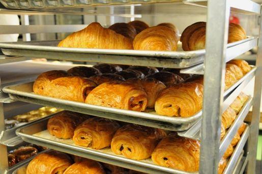 Croissants at Bouchon Bakery / © Jenn Yee