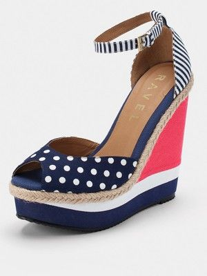 Ravel Nautical Wedge Sandals, http://www.very.co.uk/ravel-nautical-wedge-sandals/1174965647.prd
