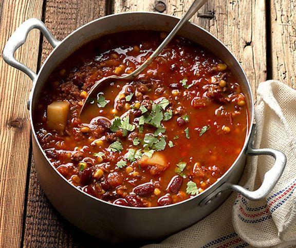 chili con carne recipe recettes pinterest chili con carne and food. Black Bedroom Furniture Sets. Home Design Ideas