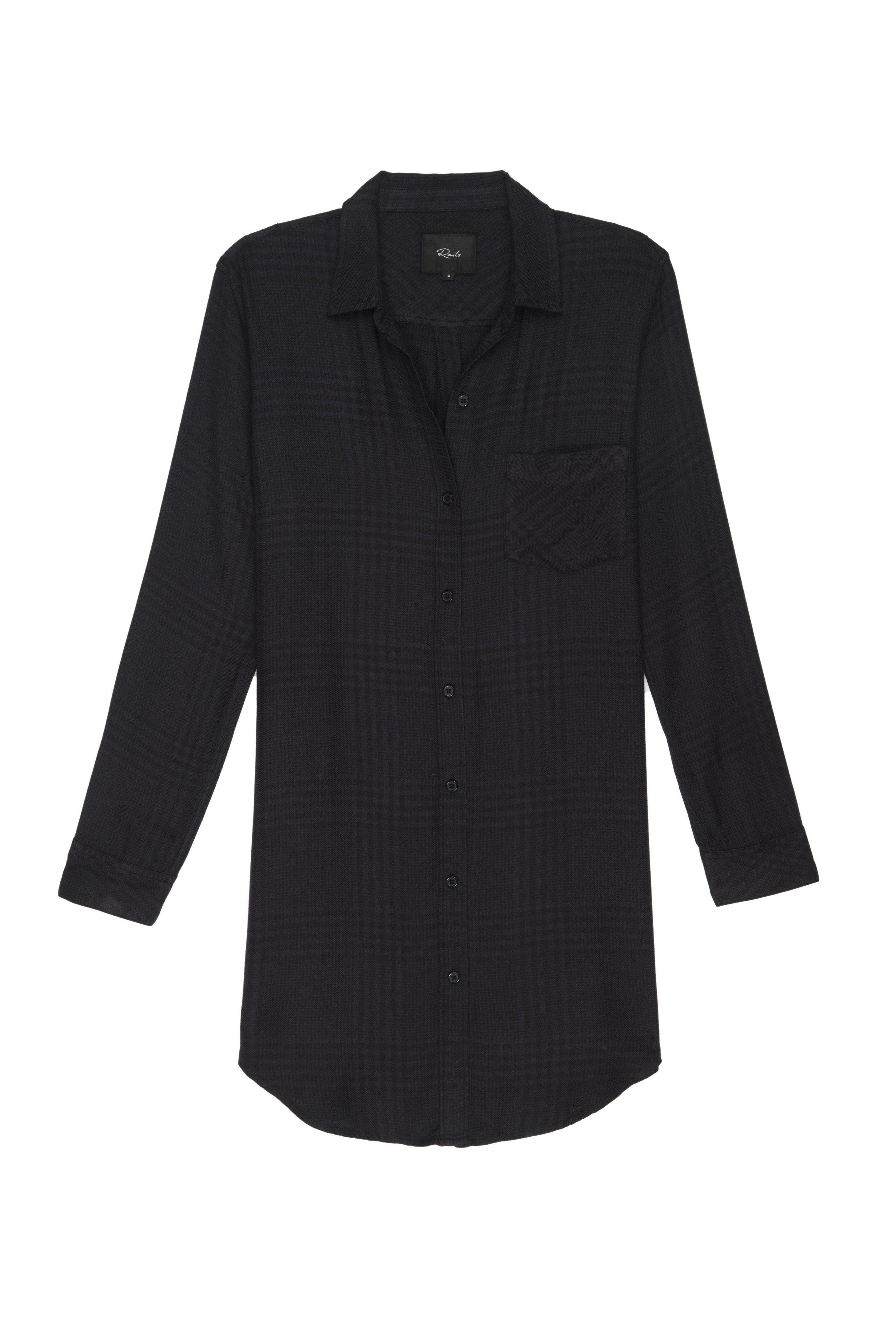 Bianca Charcoal Shadow Button Down Shirt Dress Shirt Dress Fashion [ 4288 x 2848 Pixel ]