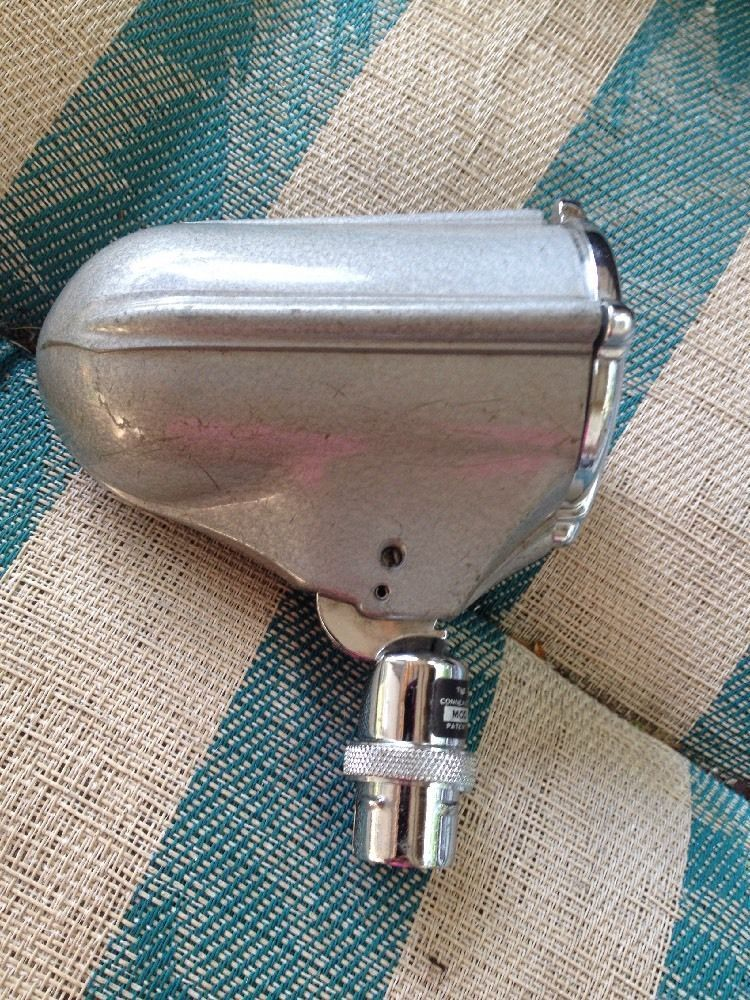 Vintage Astatic Model DN50 Microphone Head Onlyfor Parts