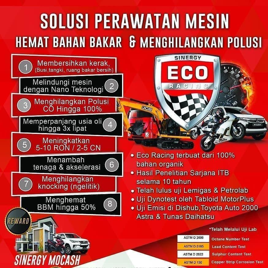 Benarkah Eco Racing Bisa Irit Bbm Eco Racing Bekerja Tanpa Menambah Alat Jadi H Finance Plan Work Hard Play Hard Workout Plan