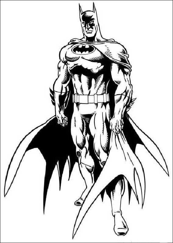 Batman Ausmalbilder 45 | Ausmalbilder für kinder | Pinterest ...