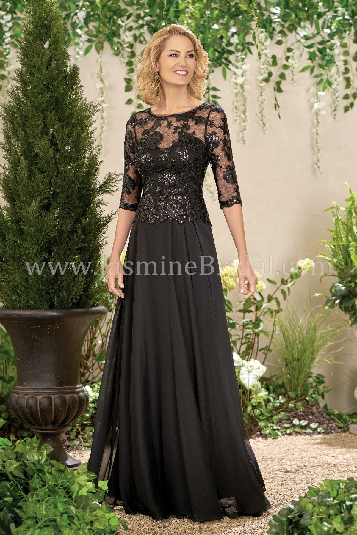 Jasmine Bridal | Jade Style J195014 *Available at http://www.tie-the ...
