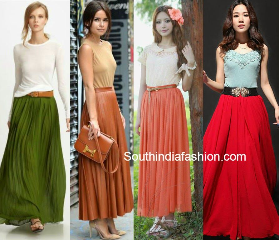 tops with long skirts | Palazzo Pants/ Maxi Skirts/ JumpSuit ...