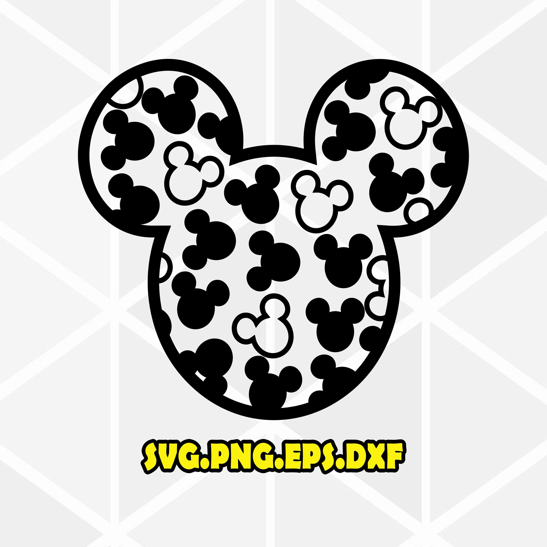 Mickey svg . Mickey .Disney SVG . Disneyland SVG