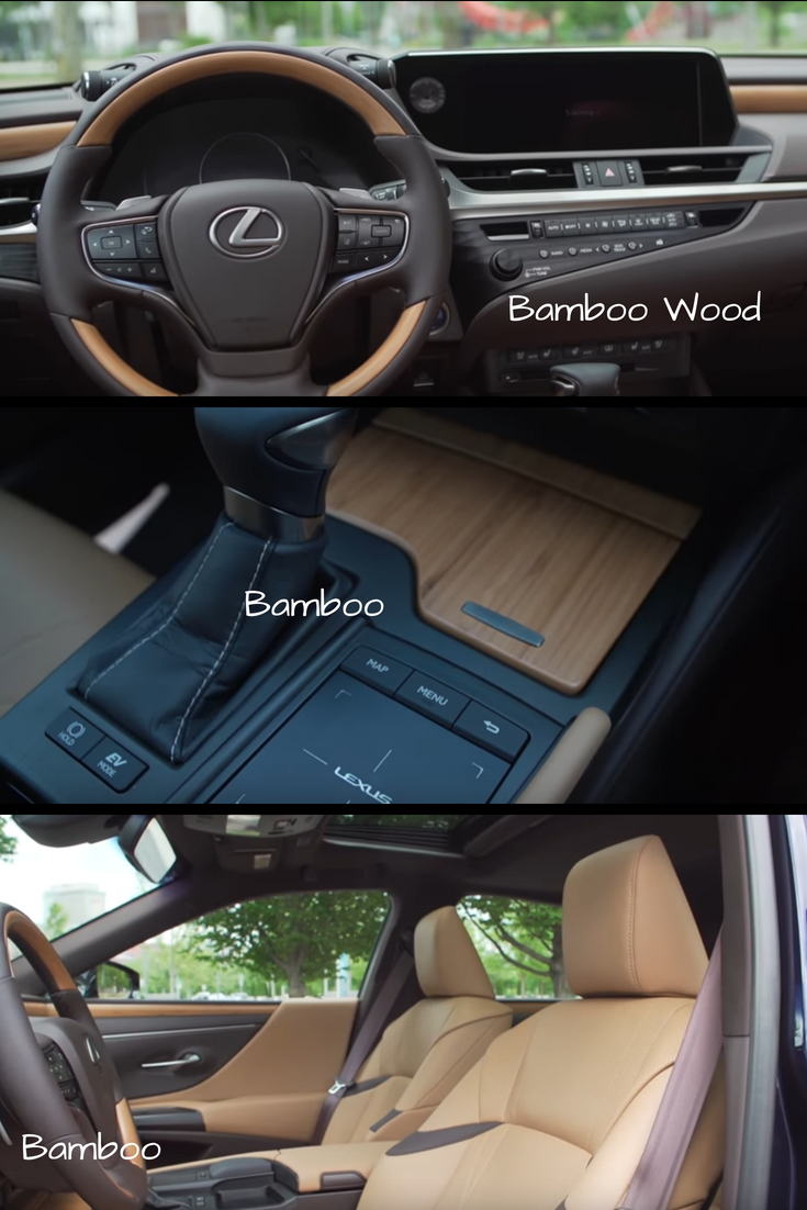 Bamboo Wood Trim Accents In The New Lexus Es Sedan Lexus Es Lexus Lexus Suv