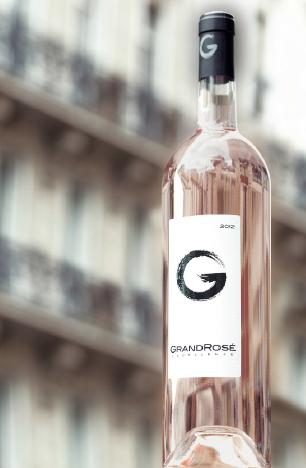 label / GrandRosé / wine