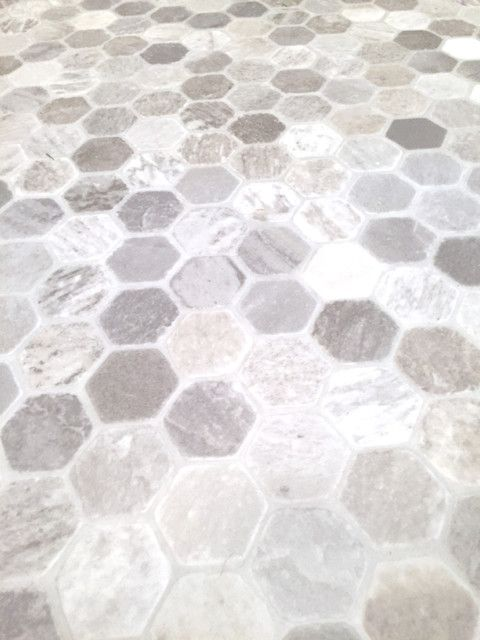 Getting A Hex Tile Look With Vinyl Vinyl Flooring Bathroom