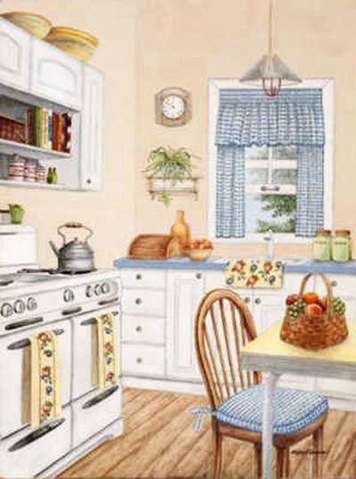 Image Du Blog Mamietitine Centerblog Net Cuisine Confortable Cuisine Campagne Mobilier De Cuisine