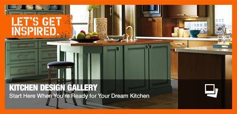 Home Depot Kitchen Ideas | Kitchen design gallery, Kitchens and ...