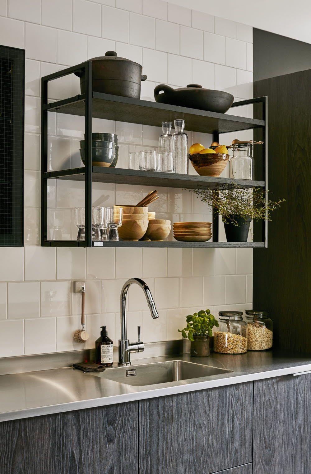 A la Carte -keittiöt Bistro -Hyllykkö #keittiö #kitchen #bistro