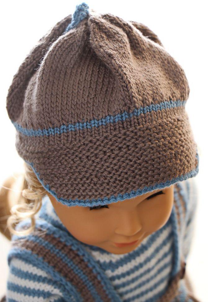 Dolls clothes knitting pattern   Vêtements de poupée bébé ...