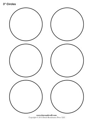 graphic regarding Circles Printable titled blank circle chart The Mommy inside of Me Circle template